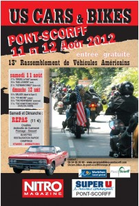 affiche-2012 Us Cars and Bikes
